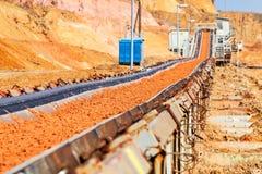 Open mijnbouwkuil Royalty-vrije Stock Foto