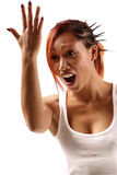 Open mouth Royalty Free Stock Photo