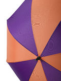 Open multi-colored umbrella Stock Photography