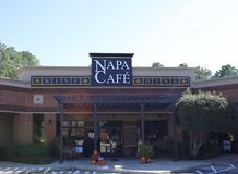 Napa Cafe, Wine and Dine, Memphis, TN stock images