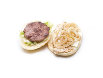Open nature burguer Stock Photography