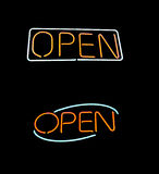 Open neon Royalty Free Stock Image