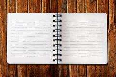 Open note book Royalty Free Stock Photography