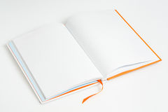 Open a note book Royalty Free Stock Images
