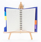 Open note book Royalty Free Stock Images
