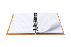 Open note pad Royalty Free Stock Photos