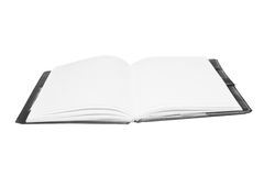 Open notebook Royalty Free Stock Images