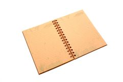 Open Notebook Royalty Free Stock Photos