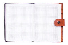 Open notebook Stock Photography