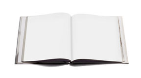 Open notebook with blank pages Royalty Free Stock Photos