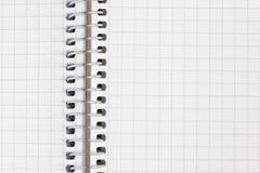 Open notebook Royalty Free Stock Image
