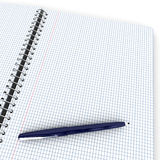 Open notebook with pen Royalty Free Stock Photo