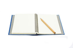 Isolated notebook Royalty Free Stock Photography