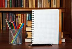 Open notebook Royalty Free Stock Photo