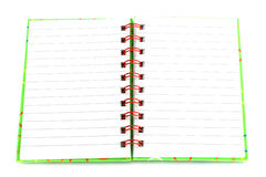 Open notepad Royalty Free Stock Images
