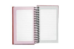Open Notepad Stock Image