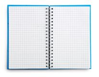 Open Notepad Isolated Stock Photography