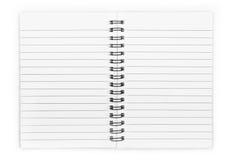 Open Notepad Stock Photos