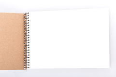 Open notepad Stock Photography