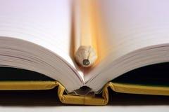 Open notitieboekje Stock Fotografie