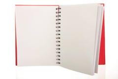 Open notitieboekje Royalty-vrije Stock Foto's