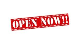 Open now Stock Photos