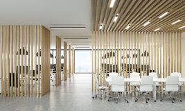 Open office with meeting area Royalty Free Stock Image