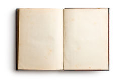 Open old book royalty free stock images