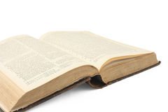 Free Open Old Book Stock Image - 8091641
