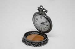 Open old pocket watch Royalty Free Stock Photos