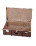 Open old suitcase Stock Images