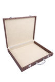 Open old suitcase Royalty Free Stock Image