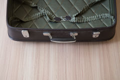 Open old suitcases Royalty Free Stock Photos