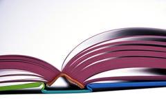 Open ontwerpboek Stock Foto's