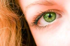 Open oog stock afbeeldingen