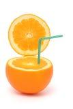 Open orange Stock Images