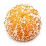 Open orange fruit, mandarin Royalty Free Stock Photos