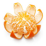 Open orange fruit, mandarin Royalty Free Stock Photography