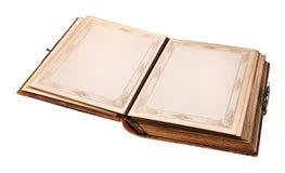 Open oud boek Royalty-vrije Stock Fotografie