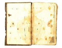 Open oud boek royalty-vrije stock foto