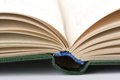 Open oud boek Royalty-vrije Stock Afbeelding