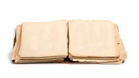 Open oud boek Stock Afbeelding