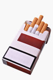 Open pack of cigarettes Royalty Free Stock Photography