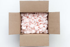 Open package Royalty Free Stock Photo