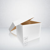 Open packing box Stock Photography