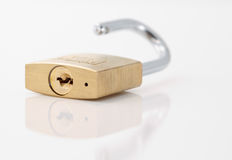 Open padlock Royalty Free Stock Photography