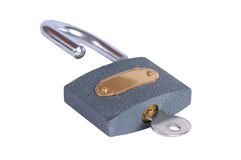 Open padlock Royalty Free Stock Photos
