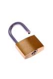 Open padlock stock photography