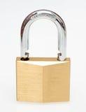 Open padlock Stock Images