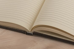 Open page notebook Royalty Free Stock Images